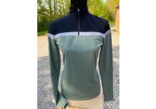 Cavalleria Toscana Jersey Fleece Multi Stripe Trænings Polo
