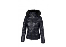 Pikeur Karry Quilted Vinterjakke, graphite blue