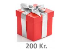 Gavekort kr. 200