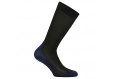 Cavalleria Toscana strømper, Work Sock, sort/royalblue