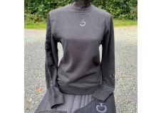 Cavalleria Toscana Team Multi-Logo Sweatshirt - mørkegrå
