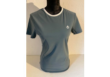 Cavalleria Toscana Rib Knit Banded T-Shirt, petroleum