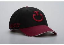 Cavalleria Toscana cap, sort m. rød, one size