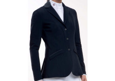 Cavalleria Toscana Embossed Line Zip Jacket, sort