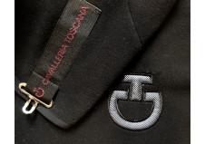 Cavalleria Toscana Kendo Pile Fleecedækken, sort