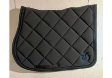Cavalleria Toscana Tech Jersey Jumping Saddle Pad, grå, str. full