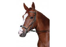 HorseGuard trense m. hannoveransk næsebånd