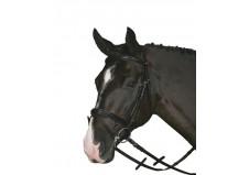 HorseGuard trense m. kombineret næsebånd