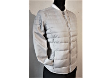 Cavalleria Toscana Quilted Piquet Detachable Sleeve Jacket, str L
