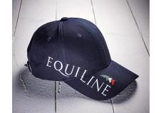 Equiline cap m. logo, navy, unisex, one size