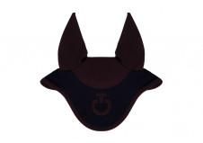 Cavalleria Toscana Diamond Quilted Jersey Hut, Navy med Brun str. Full