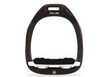 Flex-On stigbøjler, brun + hvid