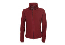 Pikeur Premium Tally fleece, mahognirød