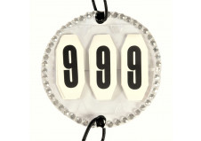 Stævnenummer med sten