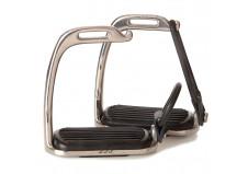 Royal Steel sikkerhedsstigbøjler m. elastik