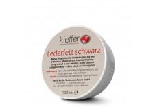 Kieffer læderfedt sort